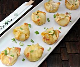 Great Edibles Recipes: Cannabis-Crab Rangoon