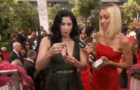 Sarah Silverman Brought Liquid THC to the Emmys