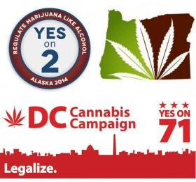 Alaska, Oregon, and DC: A Marijuana Legalization Trifecta in 2014?