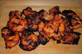 Great Edibles Recipes: Grilled Chicken Ganja Thighs