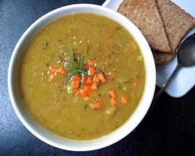 Great Edibles Recipes: Medicated Vegan Split Pea Soup