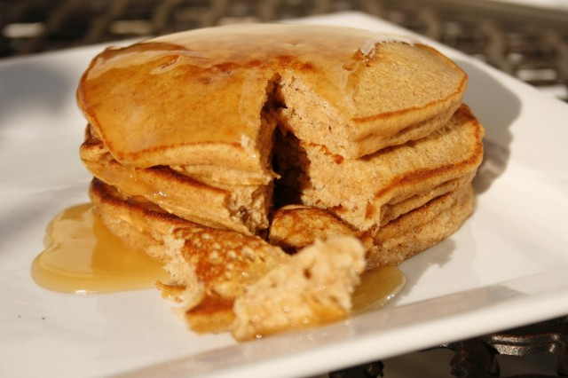 Great Edibles Recipes: Pumpkin Pancakes With Apple Cider Syrup