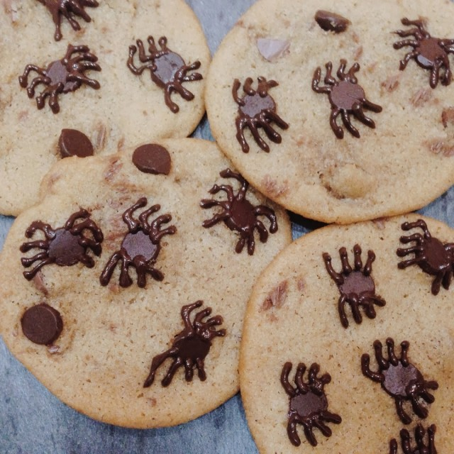 Great Edibles Recipes: Spider Cookies