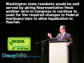 NORML PAC Endorses Representative Heck for Congress