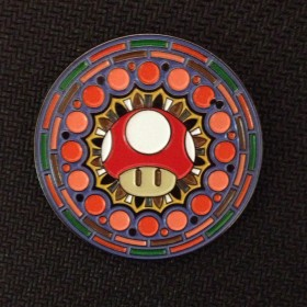 Headiest Dab Pins: Mario Mushroom Mandala