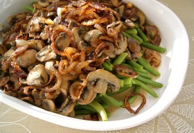 Great Edibles Recipes: Green Bean and Mushroom Cannabis Casserole