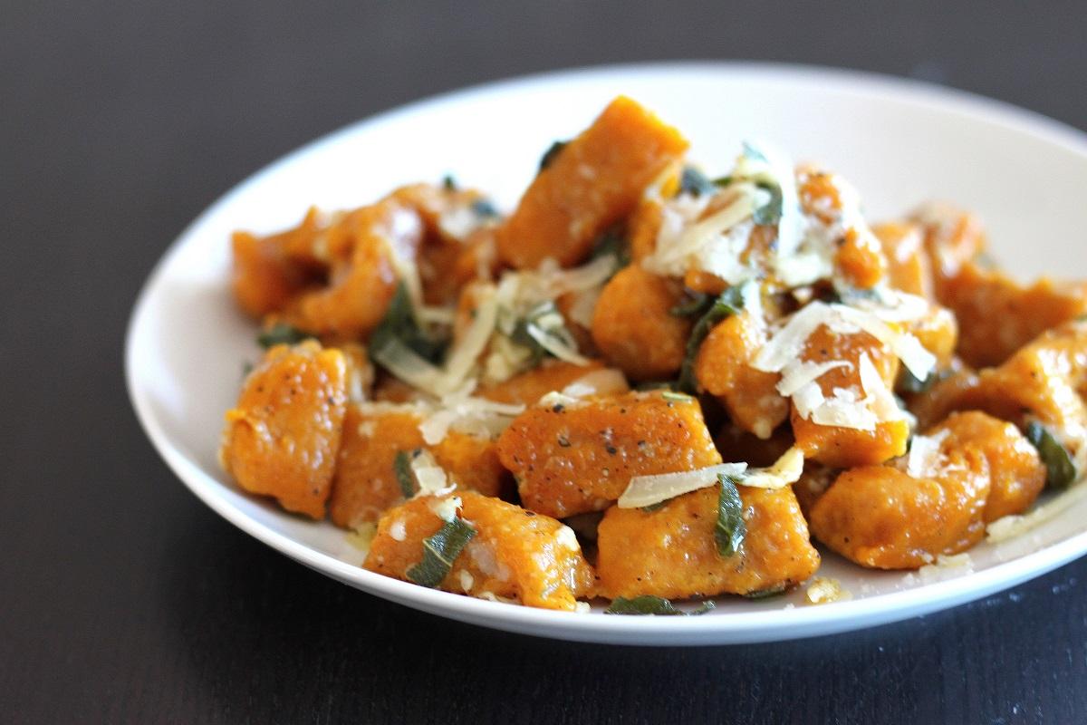 Pumpkin Gnocchi Recipe — Dishmaps