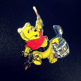 Headiest Dab Pins: Winnie Dab Poo Star Wars