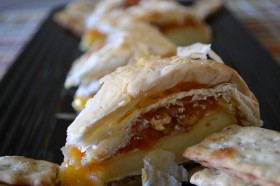 "Great Edibles Recipes: ""Baked"" Apricot Brie"