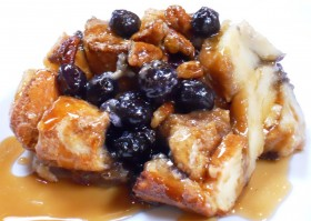 Great Edibles Recipes: Blueberry French Toast Cannabis-Casserole