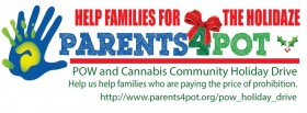 Parents 4 Pot Holiday Drive Lets You Help Drug War Victims