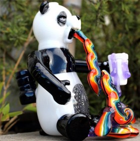 Piece of the Week | Rainbow Puking Panda Rig