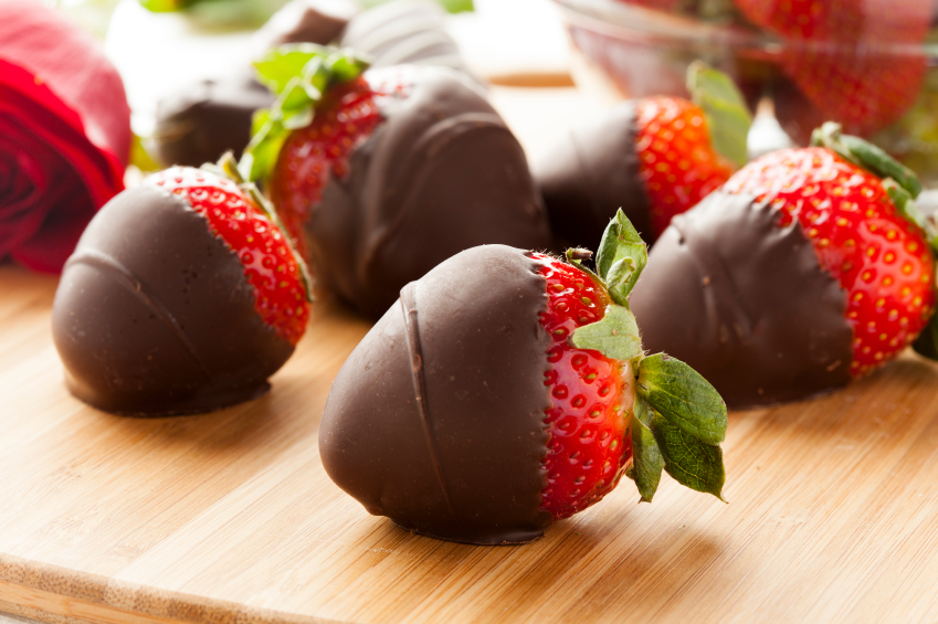 Great Edibles Recipes: Chocolate Covered Sativa Strawberries