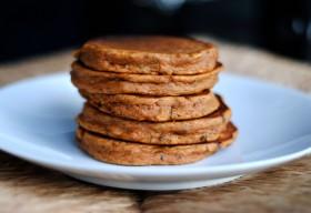 Great Edibles Recipes: Vegan Sweet Potato Pancakes