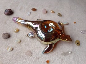 Piece of the Week | Gold Fumed Sea Turtle