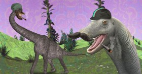 Dinosaurs Ate Magic Grass Before It Was Cool