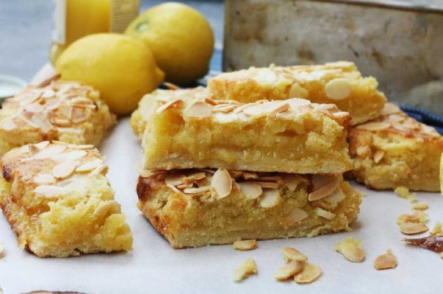 Great Edibles Recipes: Almond Lemon Bars