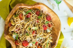 Great Edibles Recipes: Artichoke Pasta Salad