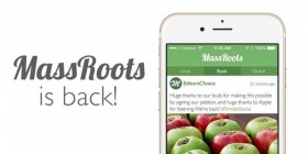 Massroots: Apple Now Allowing Cannabis Friendly Apps