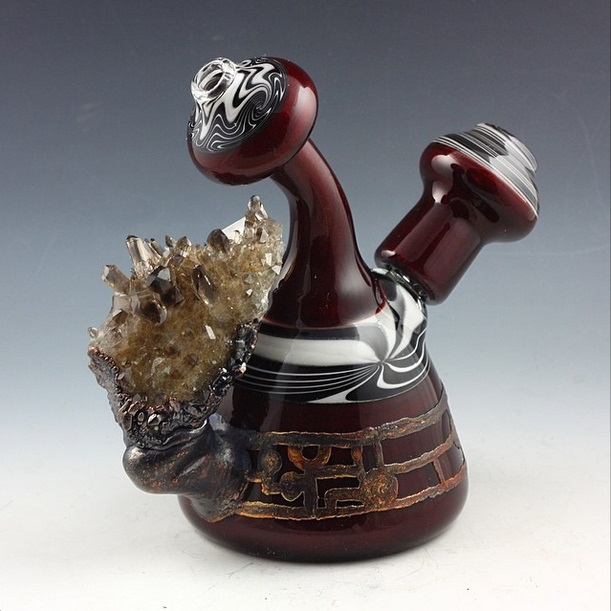Piece of the Week | Authentic Crystal Fused Dab Rigs 2 - Weedist