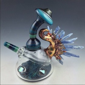 Piece of the Week | Authentic Crystal Fused Dab Rigs