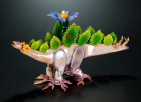 Piece of the Week | Springtime Stegosaurus