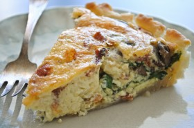 Great Edibles Recipes: Spinach Cannabis Quiche