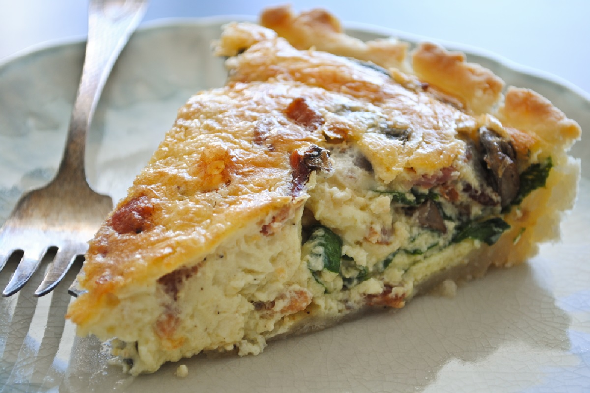 Great edibles recipes spinach cannabis quiche weedist for Good quiche recipes easy