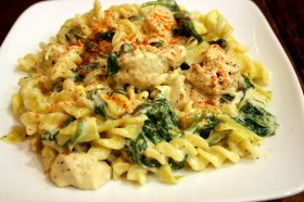 Great Edibles Recipes: Spinach and Artichoke Pasta