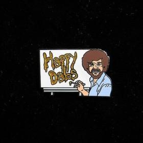 Headiest Dab Pins: Bob Ross Happy Dabs