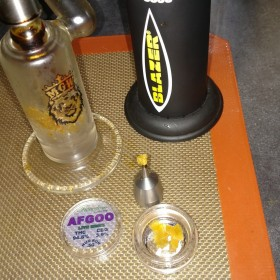Instafire: Floyd Puttin' In Work – Live Resin Afgoo