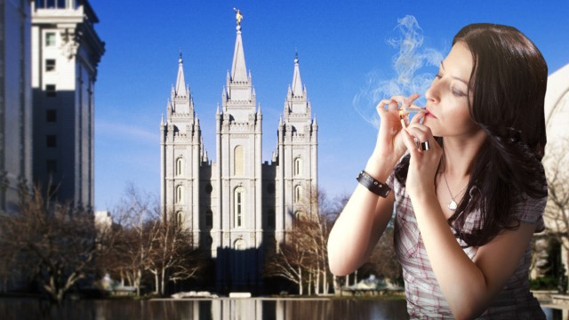 4 Things I Learned About Weed After Leaving the Mormon Church, Source: Original graphic for Weedist.com by Marisa Velazquez-Rivas