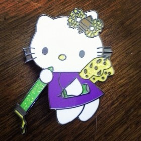 Headiest Dab Pins: Hello Kitty on the Run